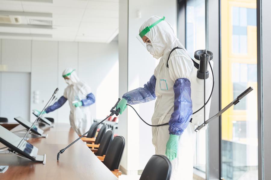 Empresa de desinfección